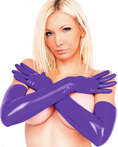 Latex Shoulder Gloves