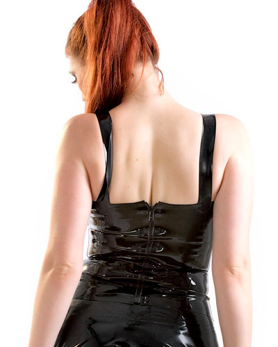Madam Top aus geklebtem Latex