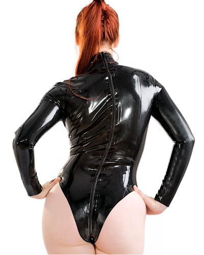 Glued Latex Baroness Body with 2 Way Zipper