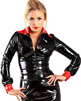 Gloss PVC Scorpio Seductress Shirt