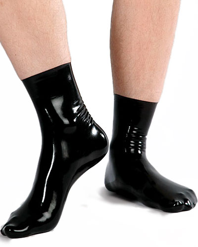 Anatomical Fetisso Latex Socks with Left and Right Foot