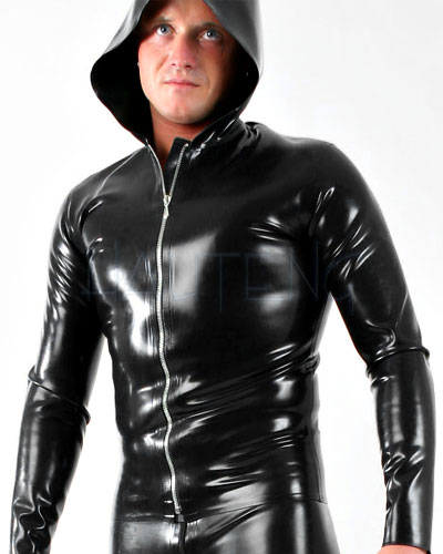 Glued Latex Hooded Shirt - Made to Measure Available