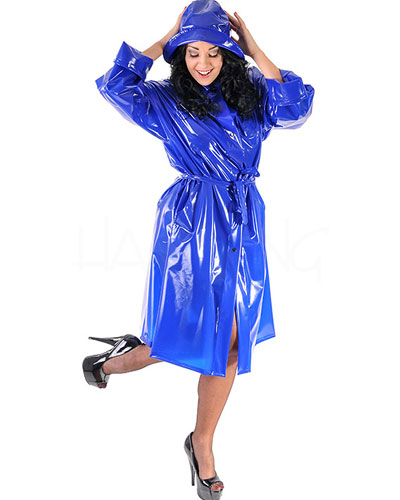 Ladies\' 3/4 Length PVC Coat