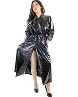 Double Breasted PVC Raincoat - Unisex