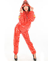 PVC Hooded Sauna Suit - Unisex