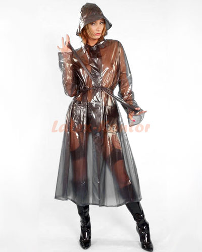 Fifties Style PVC Raincoat