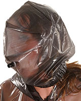 PVC Breathing Mask with Pipe / no Zipper