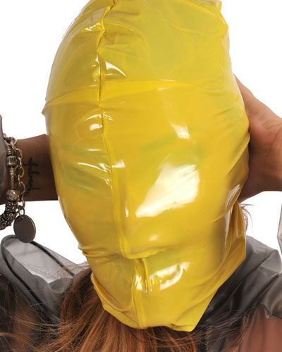 PVC Breathing Hood - No Holes