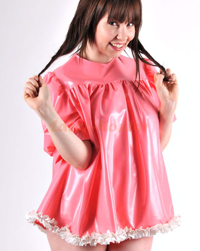 Adult Baby PVC Smock