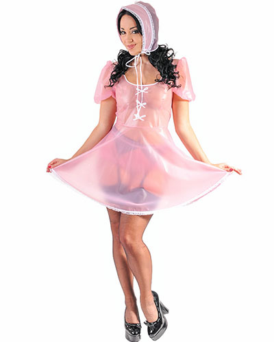 Men\'s PVC Sissy Costume