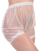 PVC Comfort Pants with Internal Elastics