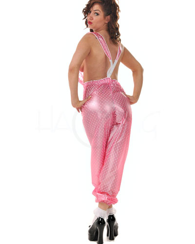 PVC Dungeree Trousers