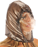 PVC Double Layer Breathing Hood