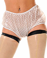 Ladies' PVC Cheeky Knickers