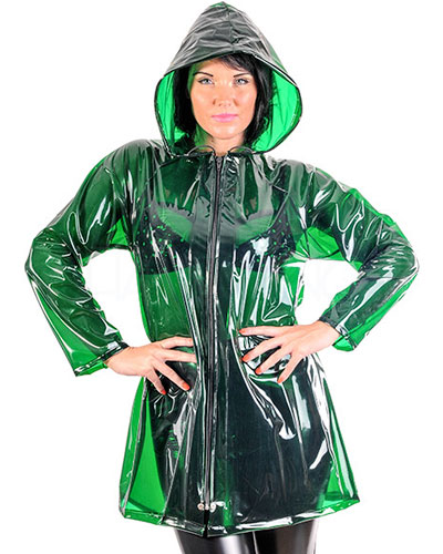 Ladies\' PVC Fashion Jacket