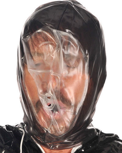 PVC Breathing Control Hood with Zipper
