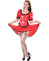 Maids Dress aus PVC für Damen