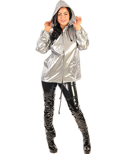 Jelly Coat - Regenjacke aus PVC