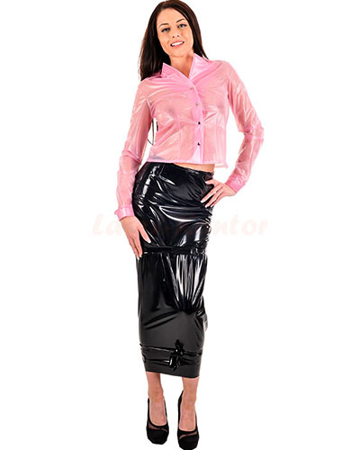 Hobble Skirt aus PVC