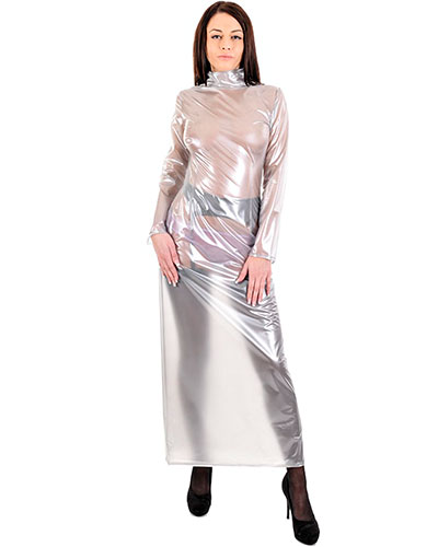 PVC Long Mortica Dress