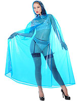 Long Enclosed PVC Cape Unisex