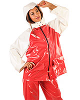 2 Piece Unisex PVC Sailing Suit