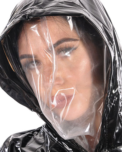 PVC Inner Breathing Mask for Hoods