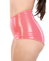 PVC 1950's Style Retro Panty with Zipper