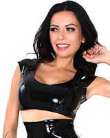 Datex Bustier Top with Back Zipper