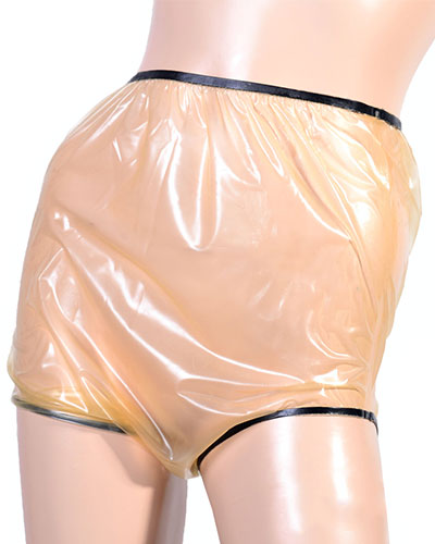 Ultra-Thin Latex Diaper Pants - only 0.1 mm