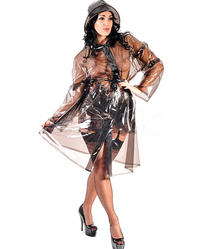 Ladies' 3/4 Length PVC Coat