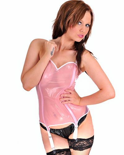 PVC Suspender Basque