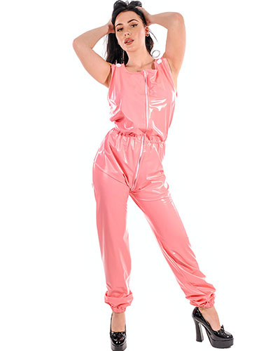 PVC Bib Suit with 3 Way Zipper